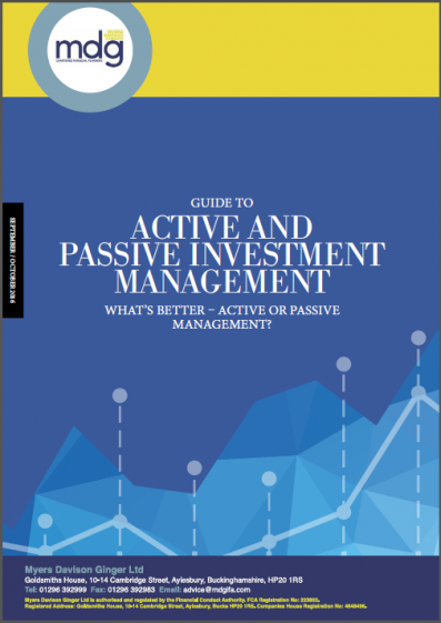 Guide to Active and Passive investment