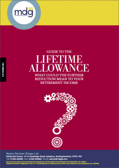 Guide to the Lifetime Allowance