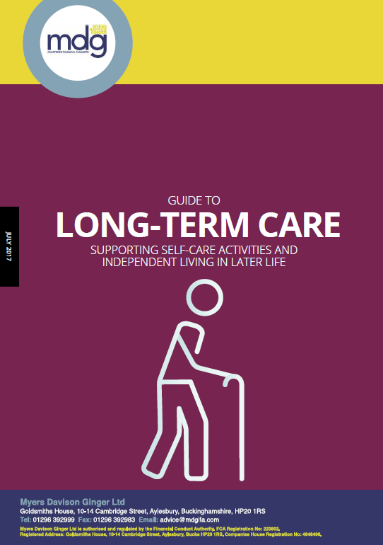 Guide To The Long-Term Care