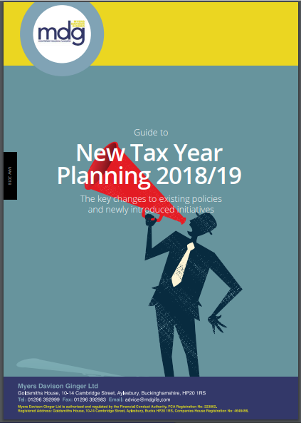 Guide to New Tax Year Planning 18-19