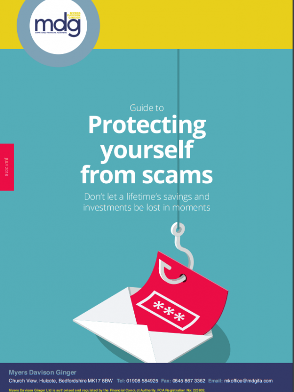 Guide to Protecting yourself from scams July 2018
