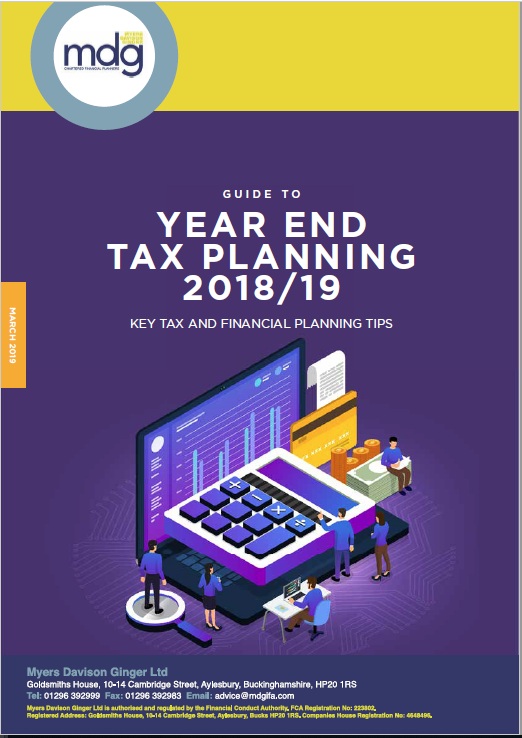 Capture-Guide to Year End Tax Planning March 2019
