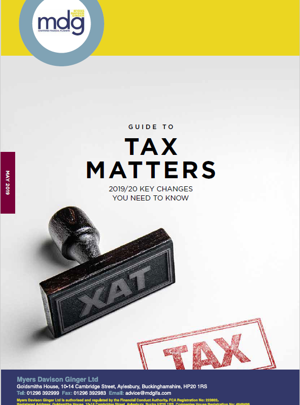 Guide to Tax Matters image