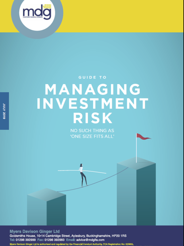 Image - Guide to the Managing Investment Risk