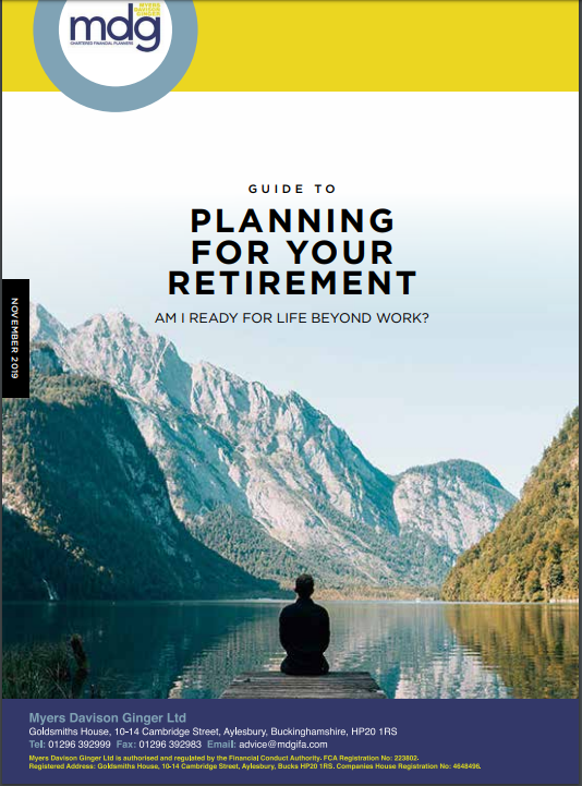 Guide to Planning For Your Retirement image