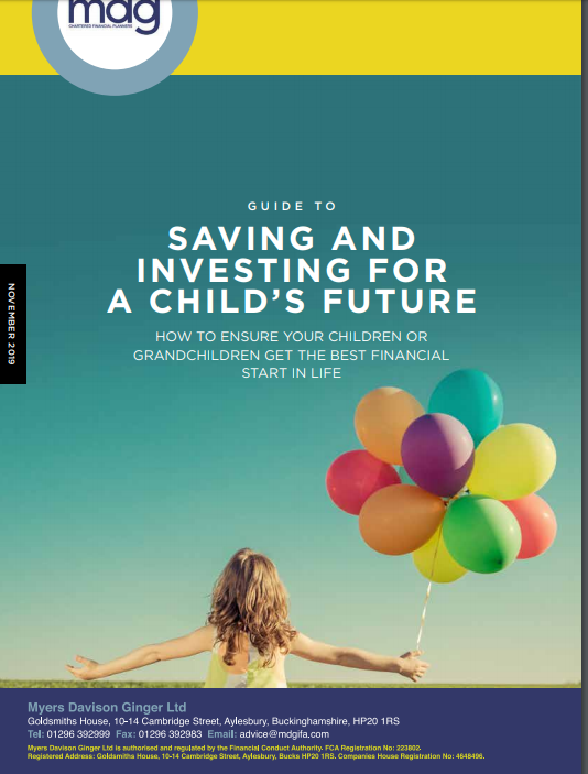 Guide to Saving and Investing for a Child's Future IMAGE