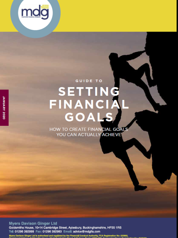 Capture Guide to Setting Financial Goals