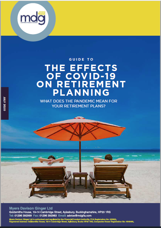 Capture-Guide to The Effects of Covid-19 On Retirement Planning