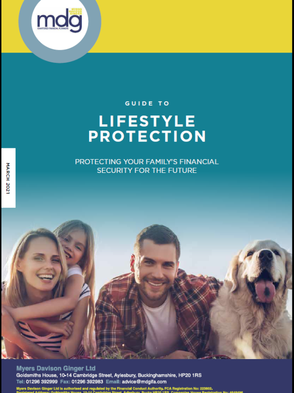 Guide to Lifestyle Protection cover