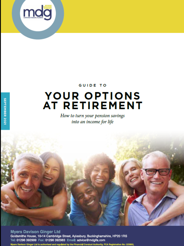 Guide to Options at Retirement